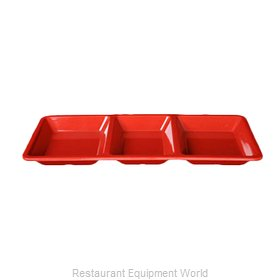 Thunder Group PS5103RD Plate/Platter, Compartment, Plastic