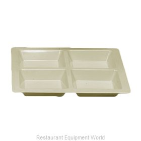 Thunder Group PS5104V Plate/Platter, Compartment, Plastic