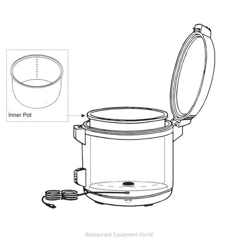 Thunder Group SEJ6012 Rice Cooker Parts