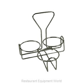Thunder Group SLCJH003 Condiment Caddy, Rack Only