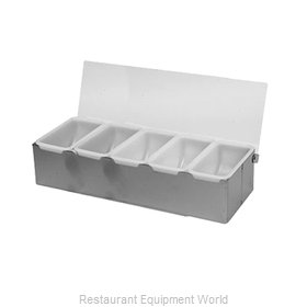 Thunder Group SLCN005 Bar Condiment Server, Countertop