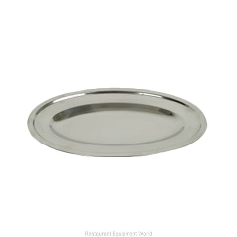 Thunder Group SLOP026 Platter, Stainless Steel