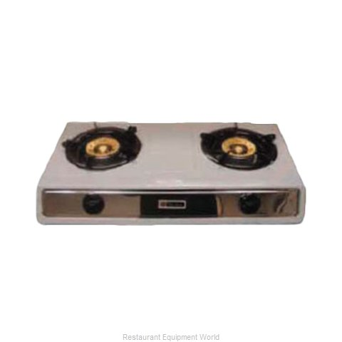 Thunder Group SLST002 Hotplate Counter Unit Gas (Magnified)