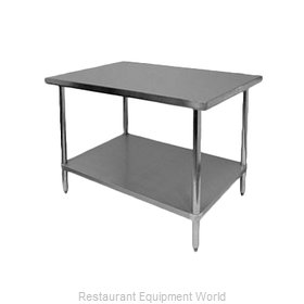Thunder Group SLWT42460F Work Table 60 Long Stainless steel Top