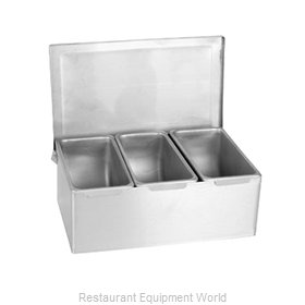 Thunder Group SSCD003 Bar Condiment Server, Countertop