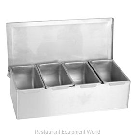 Thunder Group SSCD004 Bar Condiment Server, Countertop