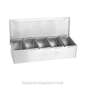 Thunder Group SSCD005 Bar Condiment Server, Countertop