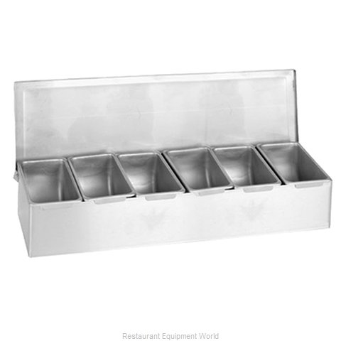 Thunder Group SSCD006 Bar Condiment Server Countertop