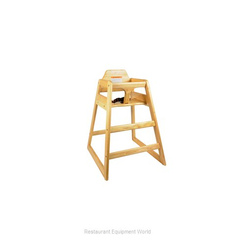 Thunder Group WDTHHC018 High Chair, Wood (Magnified)