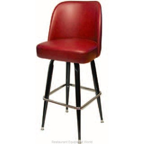 The Inn Crowd B6020-00 President Club Style Bar Stool (Magnified)