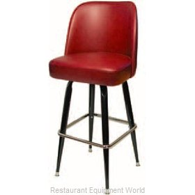 The Inn Crowd B6020-00 President Club Style Bar Stool