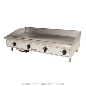 Toastmaster TMGM48 Griddle, Gas, Countertop