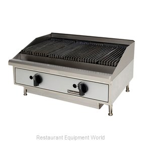 Toastmaster TMRC24 Charbroiler Gas Counter Model