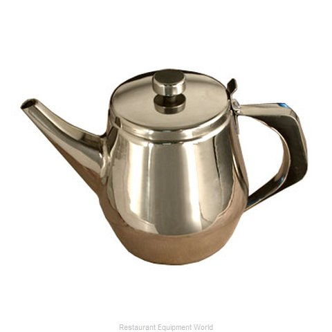 Town 24138/CS Coffee Pot Teapot Stainless Steel Holloware