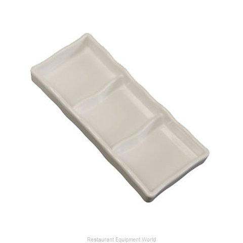 Town 31283/DZ Plate/Platter, Compartment, Plastic (Magnified)