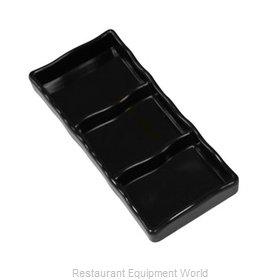 Town 31283B/DZ Plate/Platter, Compartment, Plastic