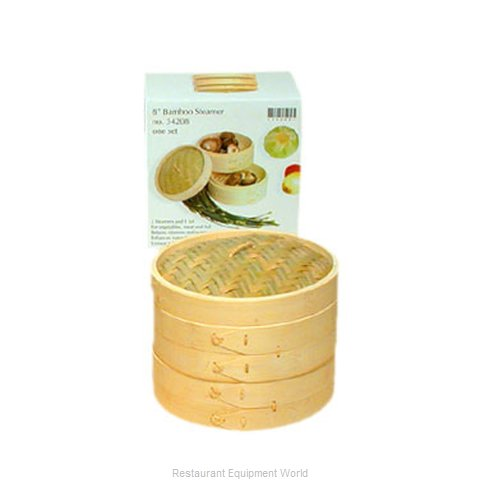 Town 34208/CS Bamboo Steamer Set (Magnified)