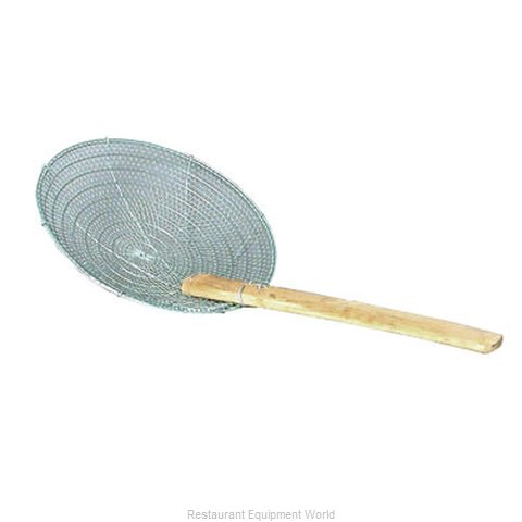 Town 42624-SS Bamboo Handled Skimmer