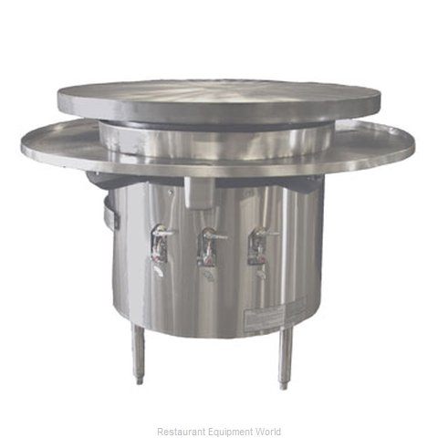 Town MBR-36 Round Griddle / Fry Top, Gas