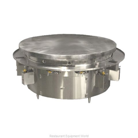 Town MBR-48 Round Griddle / Fry Top, Gas