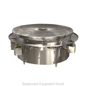 Town MBR-60/C Round Griddle / Fry Top, Gas