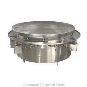 Town MBR-60 Round Griddle / Fry Top, Gas