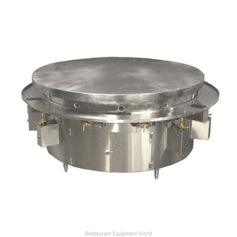 Town MBR-72 Round Griddle / Fry Top, Gas