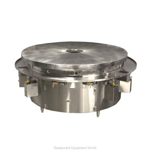 Town MBR-84/C Round Griddle / Fry Top, Gas