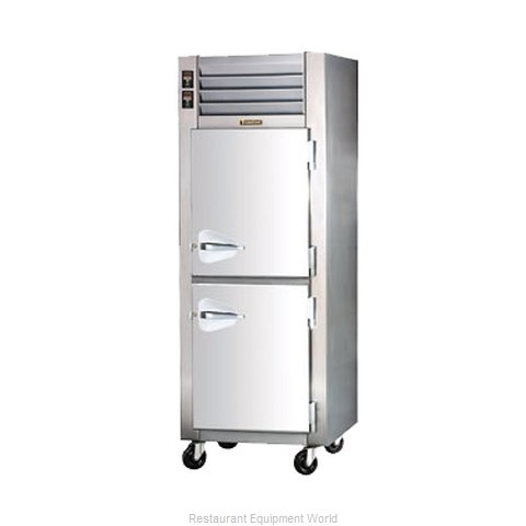 Traulsen ADH132W-HHS Refrigerated Heated Cabinet Dual Temp