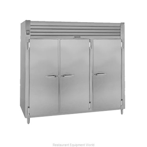 Traulsen AHF332WP-FHS Pass-Thru Heated Cabinet 3 section
