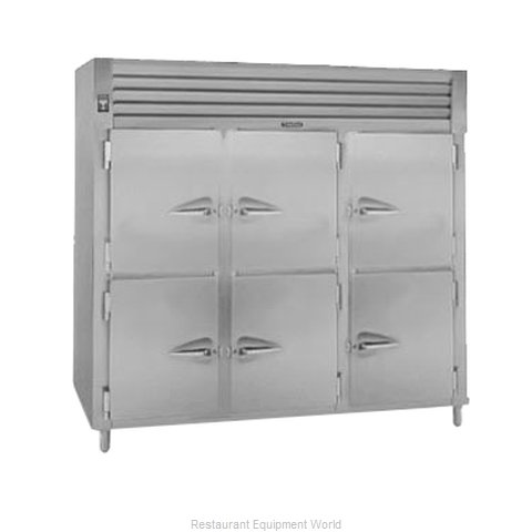 Traulsen AHF332WP-HHS Pass-Thru Heated Cabinet 3 section