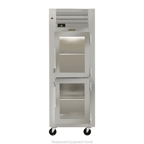 Traulsen AHT132DUT-HHG Reach-in Display Refrigerator 1 section (Magnified)