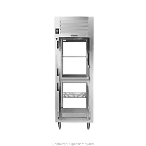 Traulsen AHT132NP-HHG Pass-Thru Display Refrigerator 1 section