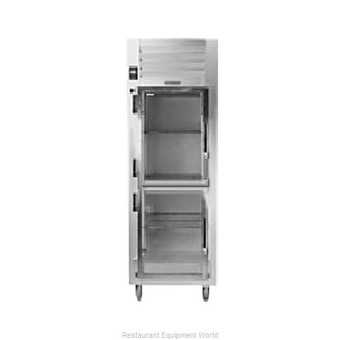 Traulsen AHT132WPUT-HHG Pass-Thru Display Refrigerator 1 section (Magnified)