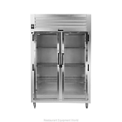 Traulsen AHT232D-FHG Reach-in Display Refrigerator 2 sections