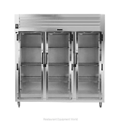 Traulsen AHT332N-FHG Reach-in Display Refrigerator 3 sections