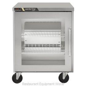 Traulsen CLUC-27R-GD-L Refrigerator, Undercounter, Reach-In