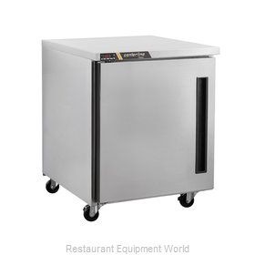 Traulsen CLUC-27R-SD-L Refrigerator, Undercounter, Reach-In