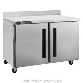 Traulsen CLUC-48F-SD-WTLR Freezer Counter, Work Top