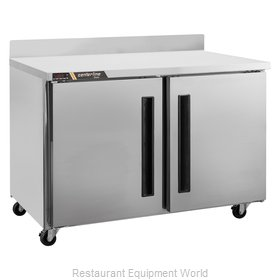Traulsen CLUC-48F-SD-WTRR Freezer Counter, Work Top