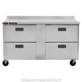 Traulsen CLUC-60F-DW-WT Freezer Counter, Work Top