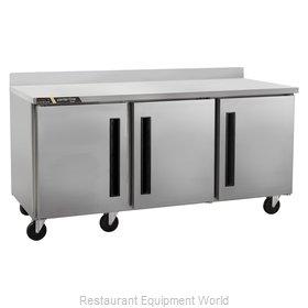 Traulsen CLUC-72F-SD-WTLRR Freezer Counter, Work Top