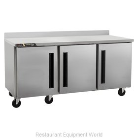 Traulsen CLUC-72F-SD-WTRRR Freezer Counter, Work Top