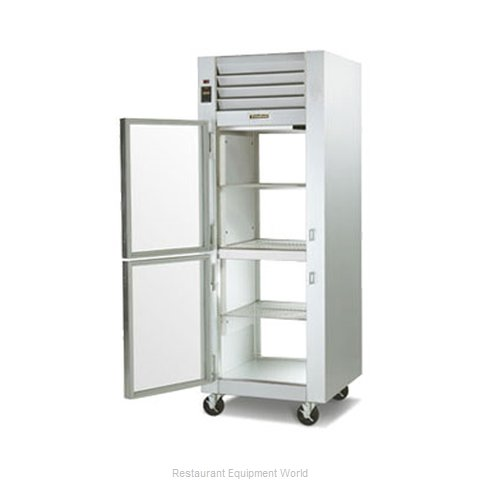 Traulsen G11005PR Pass-Thru Display Refrigerator 1 section