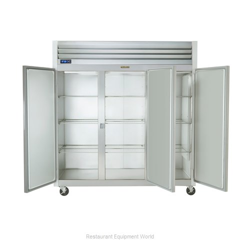 Traulsen G31303 Freezer, Reach-in, Three-Section (Magnified)