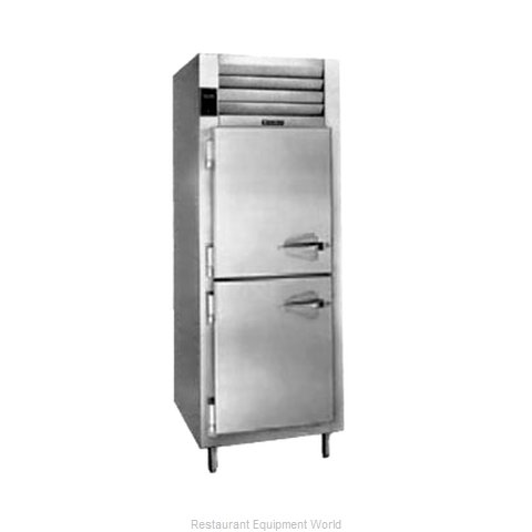 Traulsen RCV132W-HHS Refrigerator Freezer, Convertible