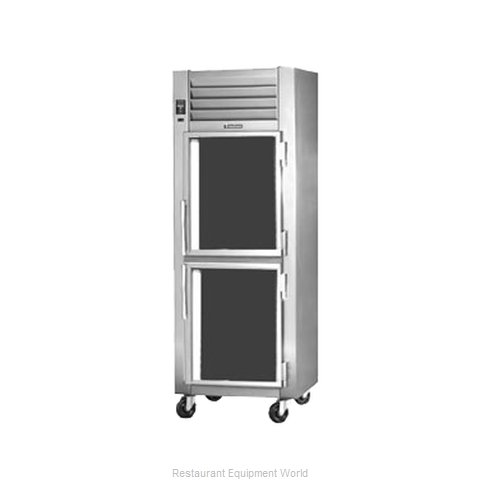 Traulsen RHT126W-HHG Reach-in Display Refrigerator 1 section (Magnified)