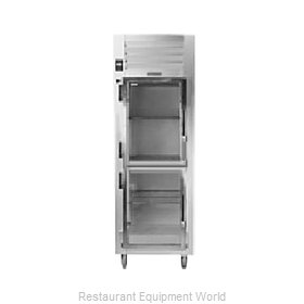 Traulsen RHT126WPUT-HHG Pass-Thru Display Refrigerator 1 section
