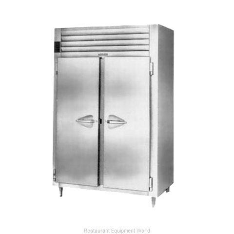 Traulsen RHT226WPUT-FHS Pass-Thru Refrigerator 2 sections (Magnified)