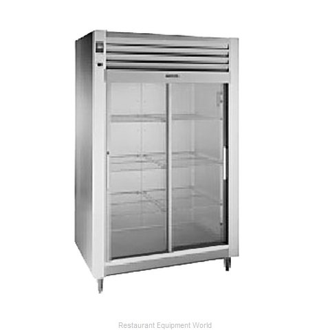 Traulsen RHT232N-FSL Reach-in Display Refrigerator 2 sections (Magnified)